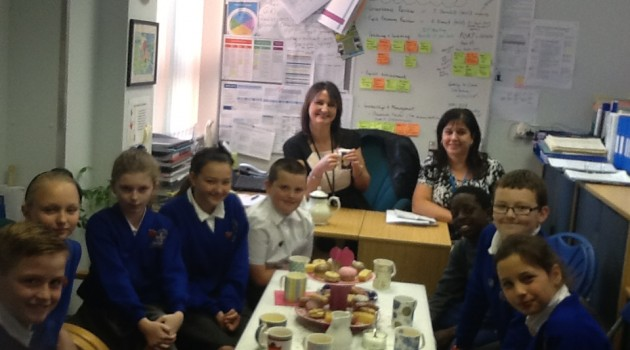Pupil Leaders' Tea Party
