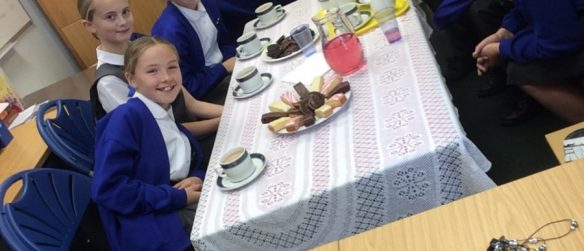 Afternoon Tea with the Headteacher